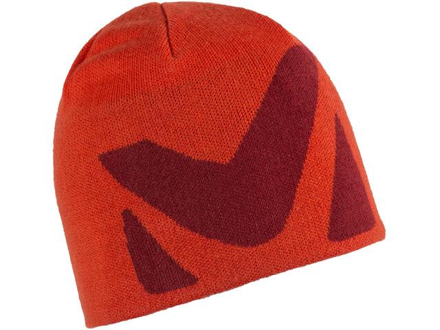 Millet Logo Gorro Hombre, orange/pompeian red